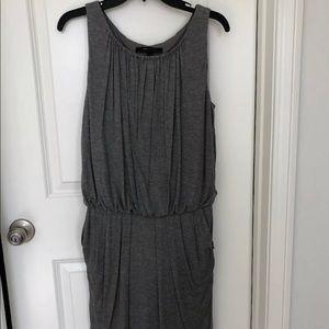 BCBG Max Azria gray sleeveless dress size S